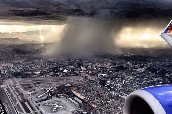 Дождь. Лас Вегас 6 Июля 2015
