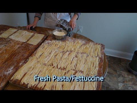 Italian Grandma Makes Fresh PastaFettuccine (RE-UPLOADED)