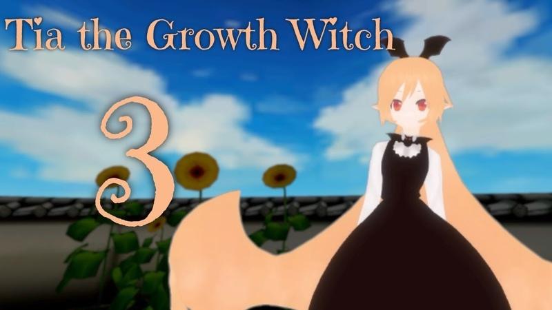 Sizebox Giantess Growth Tia the Growth Witch Part 3