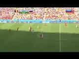 Бельгия - Россия 1-0. Рио-де-Жанейро. Чемпионат мира-2014. 22.06.14.