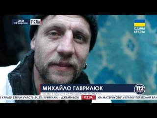 Михаил Гаврилюк благодарит тех кто ему помогает - сюжет телеканала