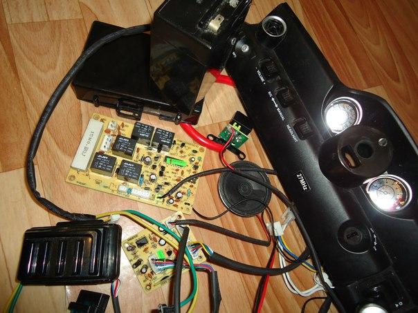 схема электромобиля RASTAR
