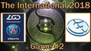 EG vs PSG.LGD Map 2 bo2 [RU] The International 8