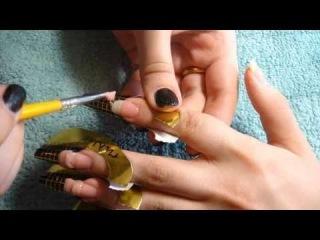 обучающее видео наращивание гелевых ногтей с нуля