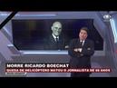 Datena chora ao falar de Boechat no final do brasil urgente