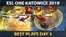 Best Plays ESL One Katowice 2019 - Day 5
