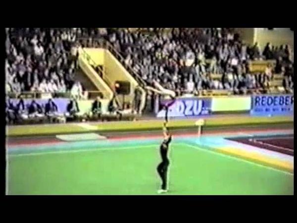 Riga 89 World Cup - Natalia Redkova and Eugeny Marchenko