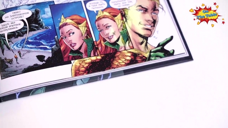 [On The Table - Обзоры комиксов и многое другое] Вселенная DC. Rebirth. Издание Делюкс (DC Universe. Rebirth. Deluxe Edition)