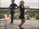 Красивая Девушка Танцует С Парнями 2018 Новая Лезгинка Туфли Муфли На Чеченском ALISHKA MELEK ELXAN