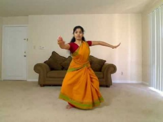 Обучение индийским танцам. Часть 1