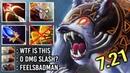 OMG 2s Kill Septer Ursa Counter Juggernaut 0 DMG Omnislash on Enrage Crazy Gameplay 7 21 Dota 2