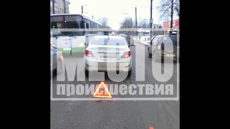 ДТП Солярис сбил 13-летнюю девочку на Щорса