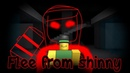 Flee from Shinny (Roblox Flee the facility Animated)