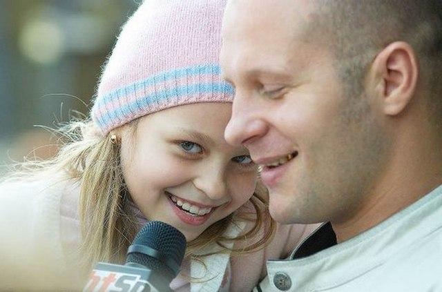 Федор Емельяненко с дочерью