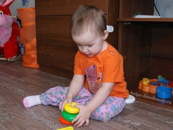 Легкий способ сшить домашние штанишки для малышей