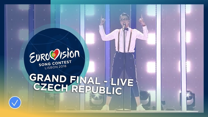 Евровидение 2018 - Чехия - Миколас Йозеф - Mikolas Josef - Lie To Me - Czech Republic - LIVE - Grand Final - Eurovision 2018