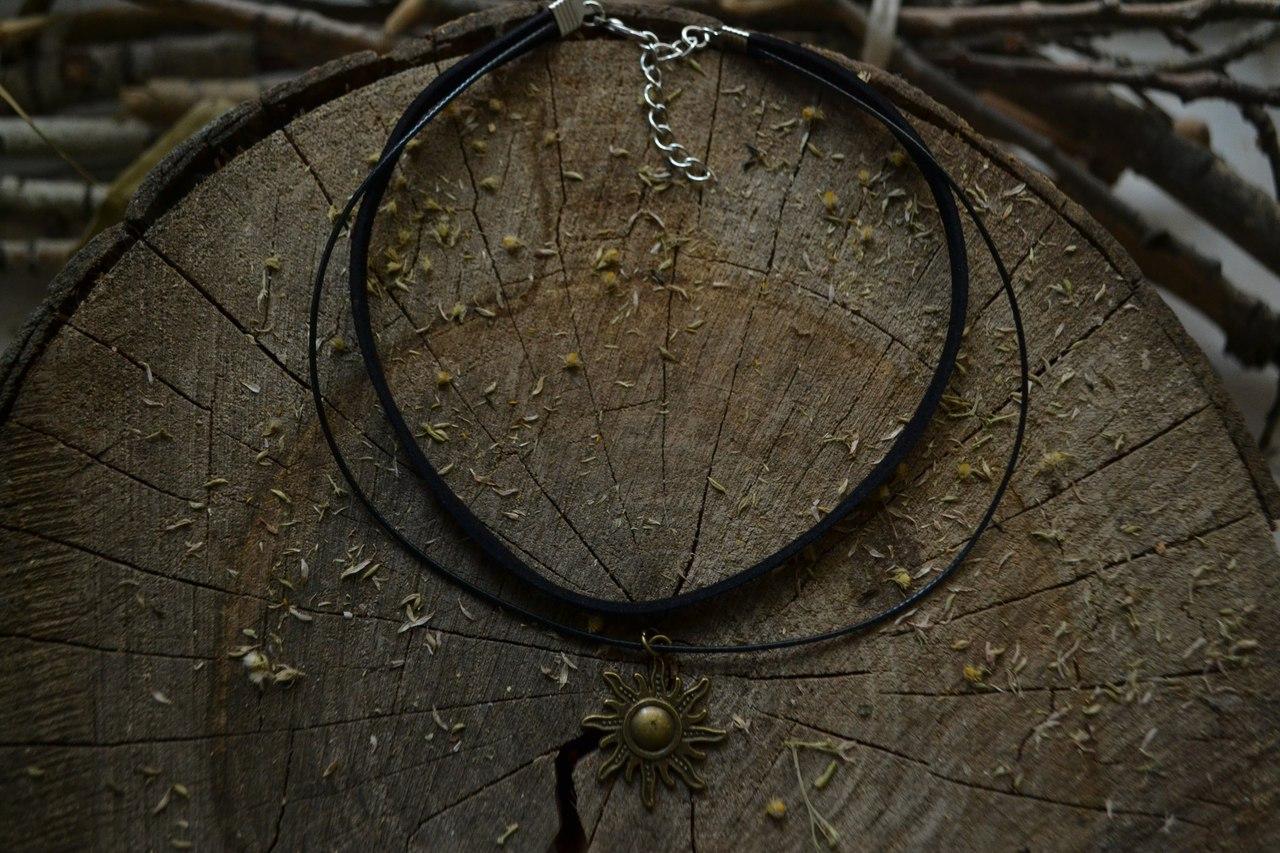 Чокеры, украшения на шею, колье-ошейник с магическими программами от Елены Руденко QRYIEmoMsEE