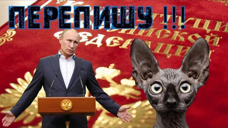 КОНСТИ(прОсти)ТУЦИЯ России или почему я за Путина / Кот Костян