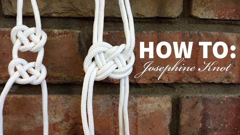 Macrame 101 Josephine Knot