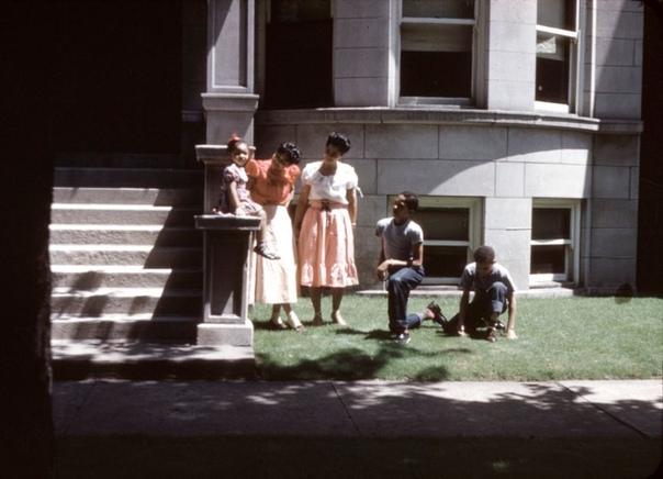 Подборка фото Чикаго 1950-х.
