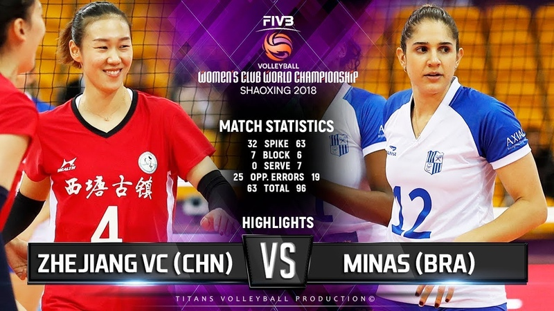 Zhejiang (CHN) vs. Minas (BRA) - Highlights | FIVB Women's Club World Championships 2018