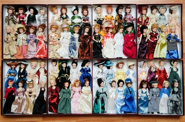 Дамы эпохи - Наши коллекции и их хранение