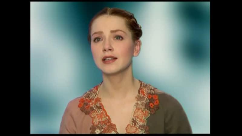 Александр Блок.Девушка пела в церковном хоре. Читает О.Будина.
