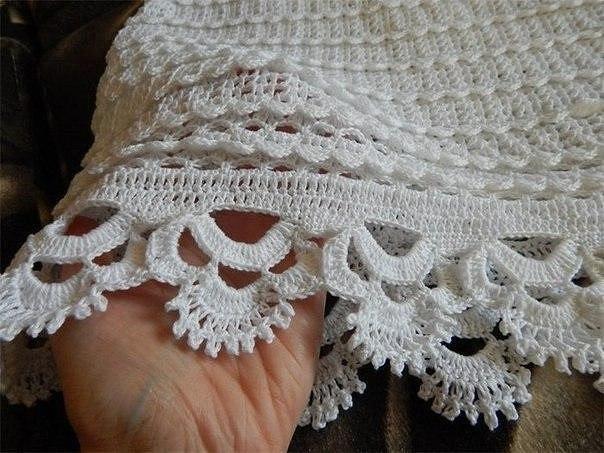 Знаменитая юбка крючком