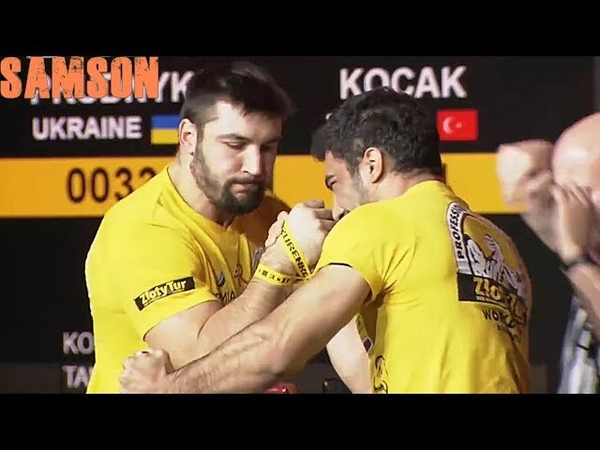 ARMWRESTLING | ZLOTY TUR 2018 | 95 kg RIGHT HAND |
