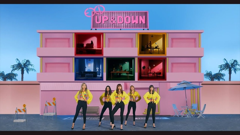 EXID UPDOWN[JAPANESE VERSION]OFFICIAL MV