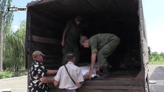 Военные ЛНР доставили гуманитарную помощь жителям Золотое-4, лишившихся урожая из-за ВСУ