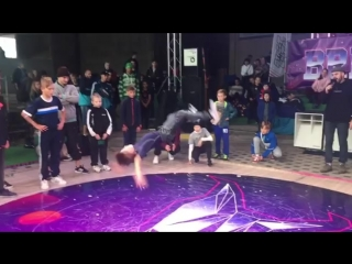"43 твиста! Bboy Grom получил снепбек от ""Rock it""! @breakidz"