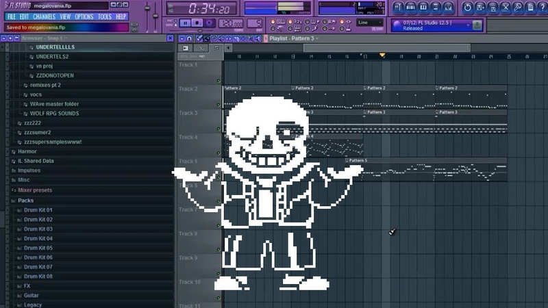 How to Re-create Megalovania in FL Studio (MIDI Instruments)