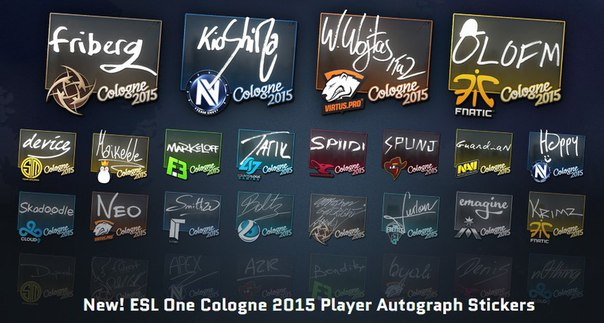 Team Envy, Team Solomid, Natus Vincere, Team Kinguin, Flipsid3 Tactics, Ninjas in Pyjamas, fnatic