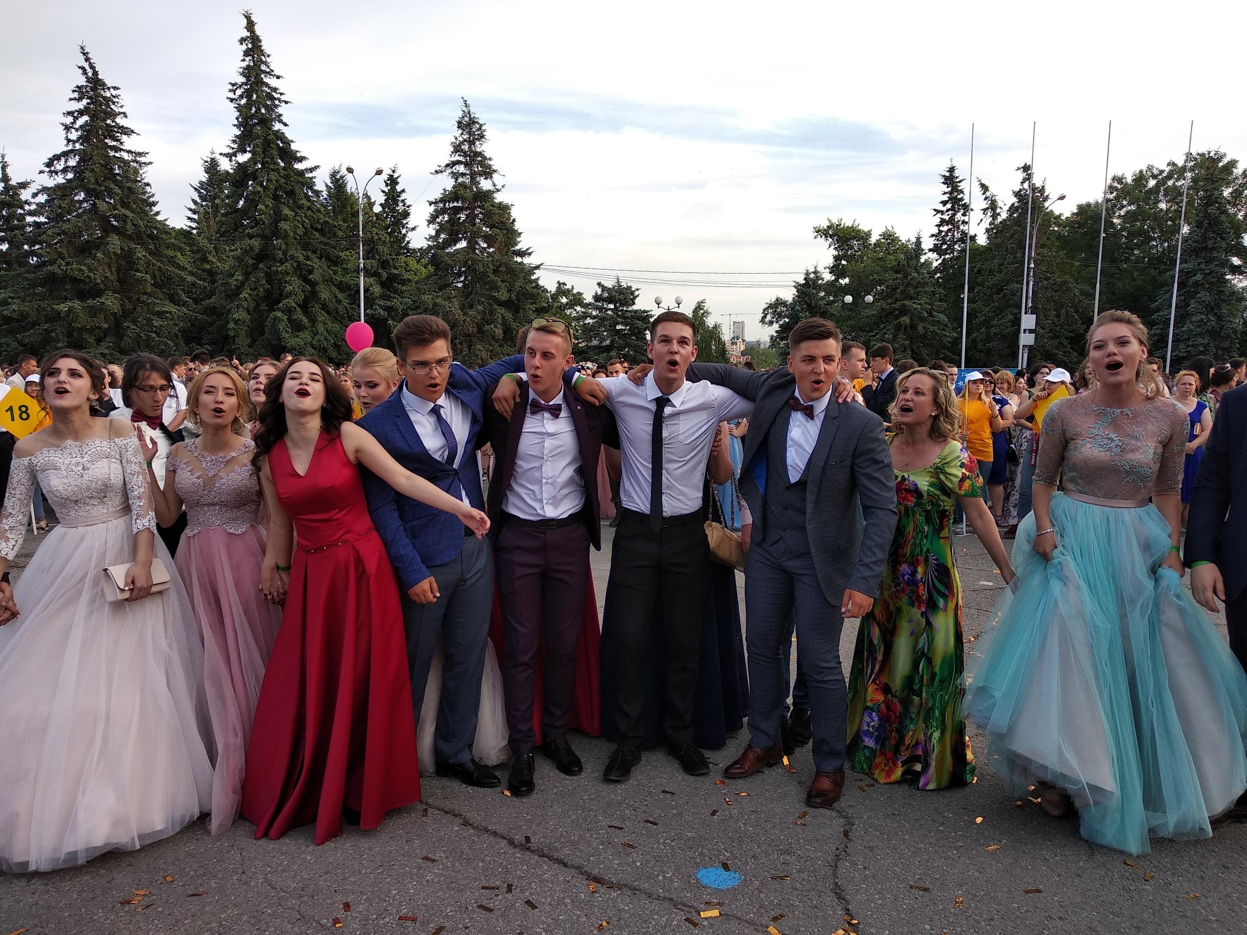 Бал выпускников- 2018 на Соборной. Как это было — Изображение 24