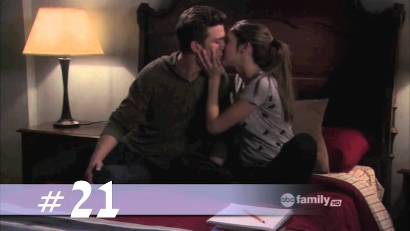 The Secret Life of the American Teenager - All the RickyAmy Kisses (S1-4.5)