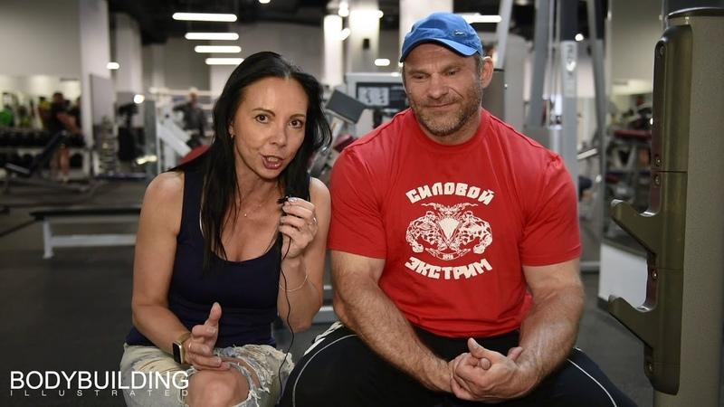 Нина Абрамова и Дмитрий Голубочкин