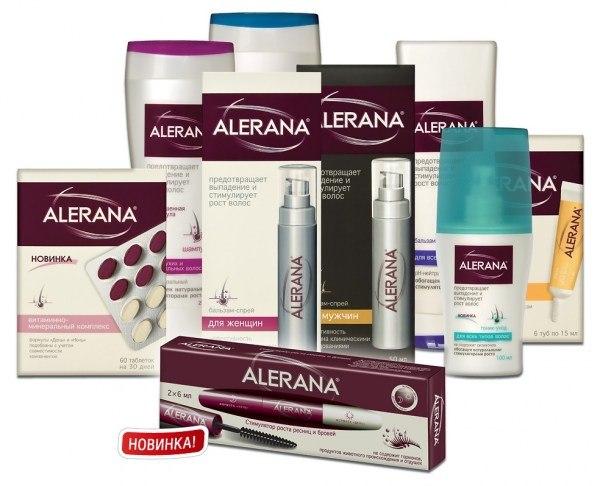 Алерана цена, Алерана для волос отзывы, Алерана против выпадения