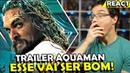 TRAILER AQUAMAN ESSE FILME PROMETE Analise e React do Trailer