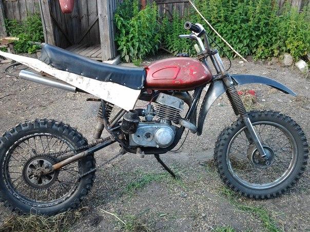 Как из минска сделать кроссовый мотоцикл