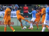 Malaga vs Real Madrid 0-1 ( La Liga 2014) Pepe Horror Tackle 15/03/2014 HD