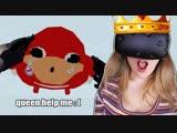 [HeyImBee] HE NEEDS MY HELP (VR CHAT) i am the queen :D