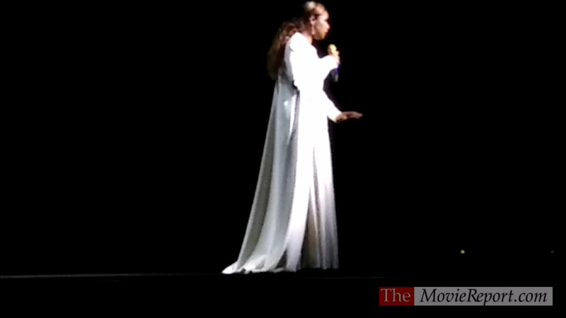 Jennifer Hudson performs Memory from CATS live at CinemaCon - April 3, 2019