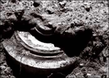 Под Таганрогом найдена мина времён ВОВ