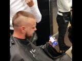Мужская стрижка + оформление бороды барбер Андрей Ефимов Дали.mp4