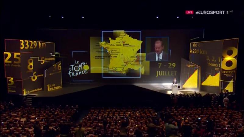 Тур де Франс 2018 - Презентация маршрута.