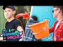 AMBUSHING KENZIE WITH WATER BALLOONS CBBC Summer Social Vlog