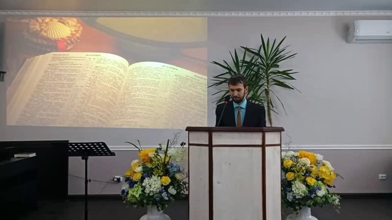 Проповедует Хохлов И.С.