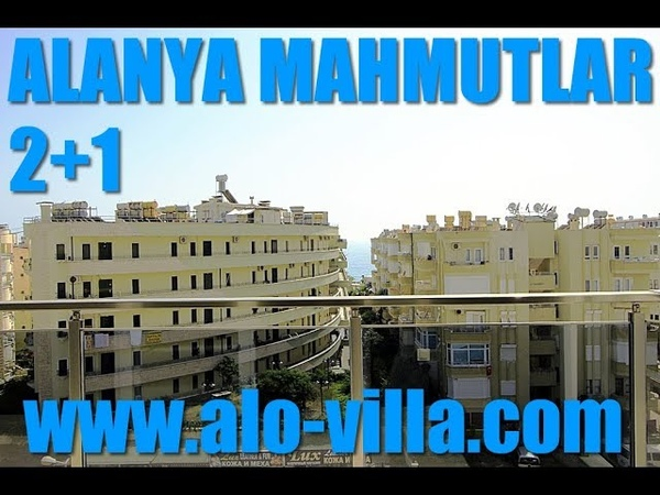 Alanya Mahmutlarda satılık deniz manzaralı 21 daire.