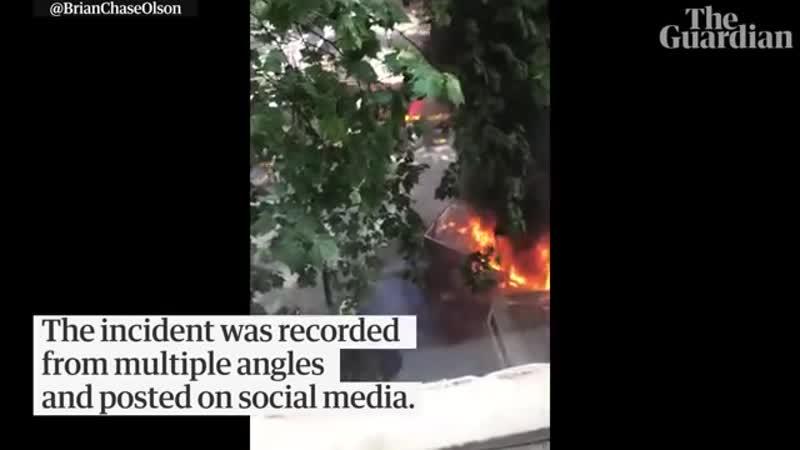 20 Nov 2018 - Witness footage captures Melbourne invaders attack as it unfolds